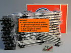 LIONEL O GAUGE DELUXE TRACK PACK train 3 rail set metal curve straight 6-22969