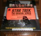 Star Trek TOS Heroes & Villains Factory Sealed Archive Box & All Autograph Cards