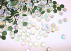 144 Hot Fix Iron On Rhinestone Round Jewel FREE USA SHIPSS20 5mm Crystal AB