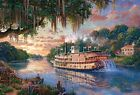 Beverly Jigsaw Puzzle 31-443 Thomas Kinkade Ship River Queen (1000 Pieces)