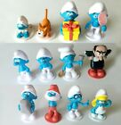 Smurfs Playset 12 Figure Cake Topper Cupcake Toppers * USA SELLER Toy Doll Set