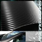 For Mazda Toyota 12x50 Flexible Carbon Fiber Vinyl Film Wrap Roll Sheet Decal
