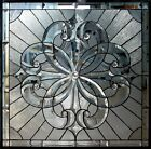 BEAUTIFUL VICTORIAN STYLE HAND MADE STAINED GLASS WINDOW - BP216