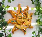 Mosaic Sun and Moon Wall Decor 12Tall Day Surrendering Unto Night Wall Mount