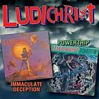 Ludichrist - Immaculate Deception / Powertrip (NEW 2CD)