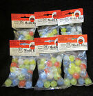 6 Bags Of Marbles Beautiful Classic Marble King Cat's Eye Marbles Big Sale