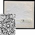 Embossing Folder BOLD FLORAL by DARICE Cuttlebug Compatible NEW 1219 111