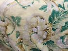 Waverly Queen Size Quilt Yellow Floral Reversible Vintage 80 in. x 84 in.