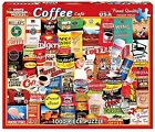White Mountain Puzzles Coffee Jigsaw Puzzle (1000-Piece)
