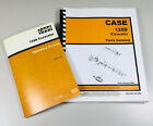 CASE 125B CRAWLER EXCAVATOR PARTS AND OPERATORS MANUAL CATALOG EXPLODED VIEWS