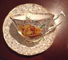 COLLINGWOODS TEA CUP AND SAUCER YELLOW