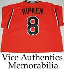 Cal Ripken Jr Signed Autographed Baltimore Orioles Authentic Jersey - MLB Auth