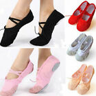 Canvas Girl Women Adult Ballet Dance Shoes Slippers Pointe Gymnastics Shoes New