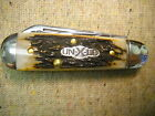 Great Eastern Northfield UN-X-LD # 25 Swell End Jack Knife Burnt Stag 2012