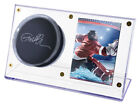 Ultra Pro Clear Acrylic Puck & Card Holder Desktop Hockey Display Case