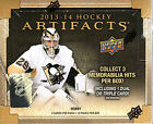 2013-14 UD Artifacts NHL Hockey Hobby Box