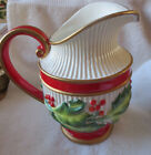 FITZ & FLOYD NOEL CLASSIQUE CHRISTMAS PITCHER  - EUC! - BEAUTIFUL!!