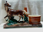 Beautiful Lane and Co Large Horse and Barrel Planter 1950s