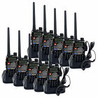 Wholesale 10PCS RETEVIS Walkie Talkie 5W 128CH UHF+VHF Monitor VOX Two-Way Radio