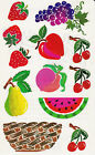 Mrs Grossmans Giant Stickers Posh Impressions Fruit Basket Pear 2 Strips