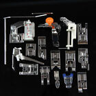 1 Set 16 Presser Foot Domestic Sewing Machine Feet Janome Brother Singer Toyota