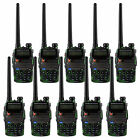 10PCS Baofeng BF UV-5RA Walkie Talkie 5W 128CH UHF+VHF Monitor Two way Radios