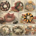 MCCALLS 8648 SEASONAL WREATH DECOR SEWING PATTERN VINTAGE BRIDAL BABY BEARS 1983