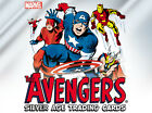 AVENGERS SILVER AGE (2015) FACTORY SEALED BOX (24 PACKS) WITH PROMO P1