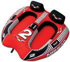 AIRHEAD AHVI F2 Viper 2 Double Rider Cockpit Inflatable Towable Lake Water Tube