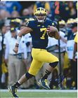 Shane Morris Signed Michigan Wolverines 8x10 Photo