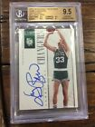 LARRY BIRD 2013-14 NATIONAL TREASURES GAME CHANGERS AUTO 60 BGS 9.5 BOSTON