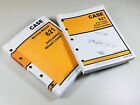 CASE 621 ARTICULATED WHEEL LOADER SERVICE AND PARTS CATALOG MANUALS REPAIR SHOP
