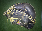 EASTON ALL LEATHER BLACK MAGIC BASEBALL SOFTBALL MITT GLOVE FLEX ACTION PALM