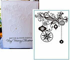 DECORATIONS Crafts Too CTFD3070 Christmas Cuttlebug Compatible Embossing folders
