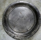 Early 1900s Union Metal Works Platter