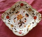 Lovely Imari Style Royal Cown Derby Asian Rose Large Footed Bowl Tiffany