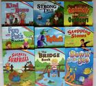 A Beka Book 1st Grade Reader Strong Tiptoes Bridge Kind Fun Down Current Lot Set