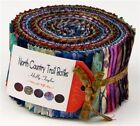 Moda Fabric North Country Trail Batiks Holly Taylor 40 Pc Jelly Roll Strip Set