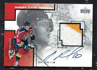 PAVEL BURE 2001 Upper Deck AUTO SIGNED GAME 2 color JERSEY CARD NHL HOCKEY