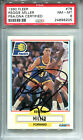 1990 FLEER Reggie Miller AUTO PSA DNA 8 Indiana Pacers #78 Basketball Card