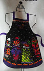 Halloween APRON Fabric Panel ready to cut N sew RETIRED Patty Reed Design