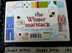 CARDSTOCK PAPER 96 PIECES 65 X 45 INCHES 1 SIDED dsp WINTER MATSTACK