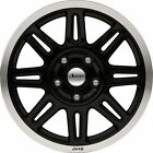 07 15 Jeep Wrangler Commander New Black Aluminum Wheel 17 x 75 Set of 4 Mopar