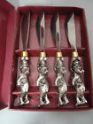 ARTHUR COURT DANCING BEARS  HOLIDAY  Knife SPREADERS New in Box