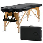 New Massage Table Massage Bed Spa Bed 73 Long Portable 2 Folding W Carry Case