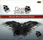 Game of Thrones Season 4 Trading Cards Sealed Hobby Box Rittenhouse 2 Autographs