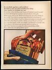 1966 Seagram's Crown Royal Blended Canadian Whiskey Vintage Magazine Print Ad
