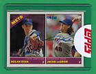 2015 TOPPS HERITAGE HIGH NUMBER NOLAN RYAN JACOB DEGROM AUTO ON CARD 6 25 METS