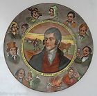 Vintage  ROYAL DOULTON D6344 Series PLATE decorative ROBERT BURNS