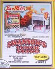 Bar Mills HO #0952 Swanson's Luch Stand w/Billboard (Building Kit)